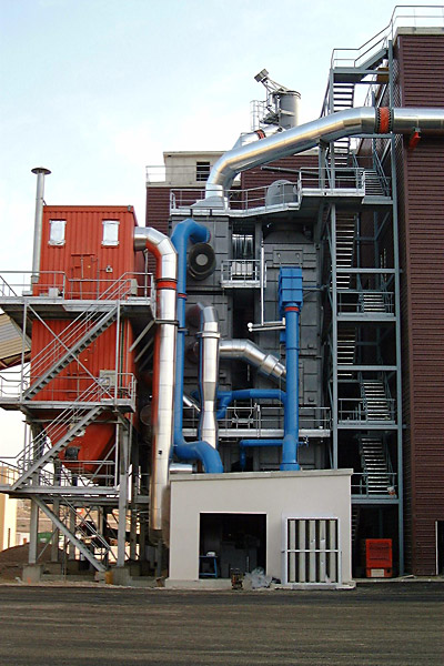 Incinerator for cupola furnace exhaust gases