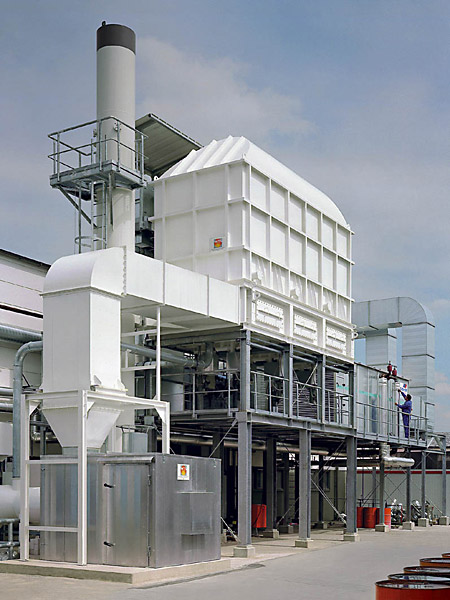 Regenerative combustion in the paint industry