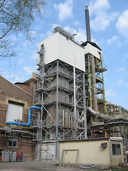 Sewage incinerator in the pharmaceutical industry