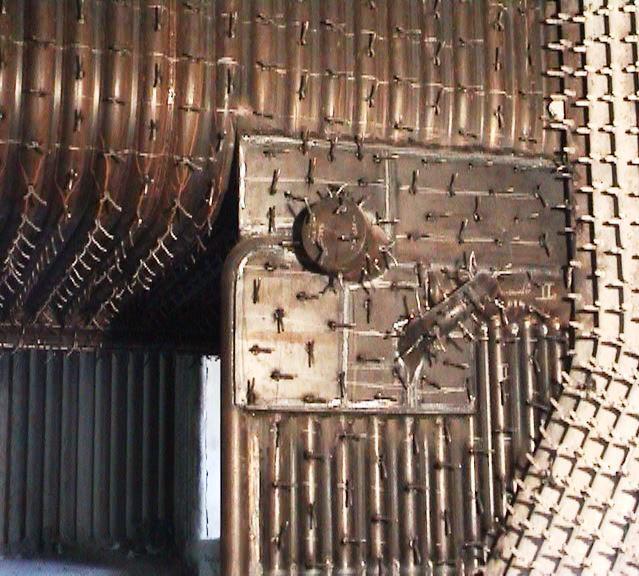 Membrane wall
