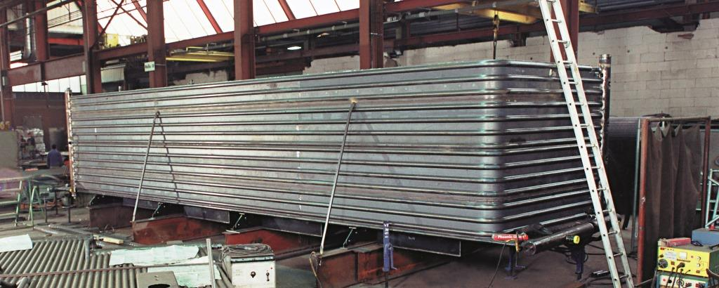 Membrane wall production