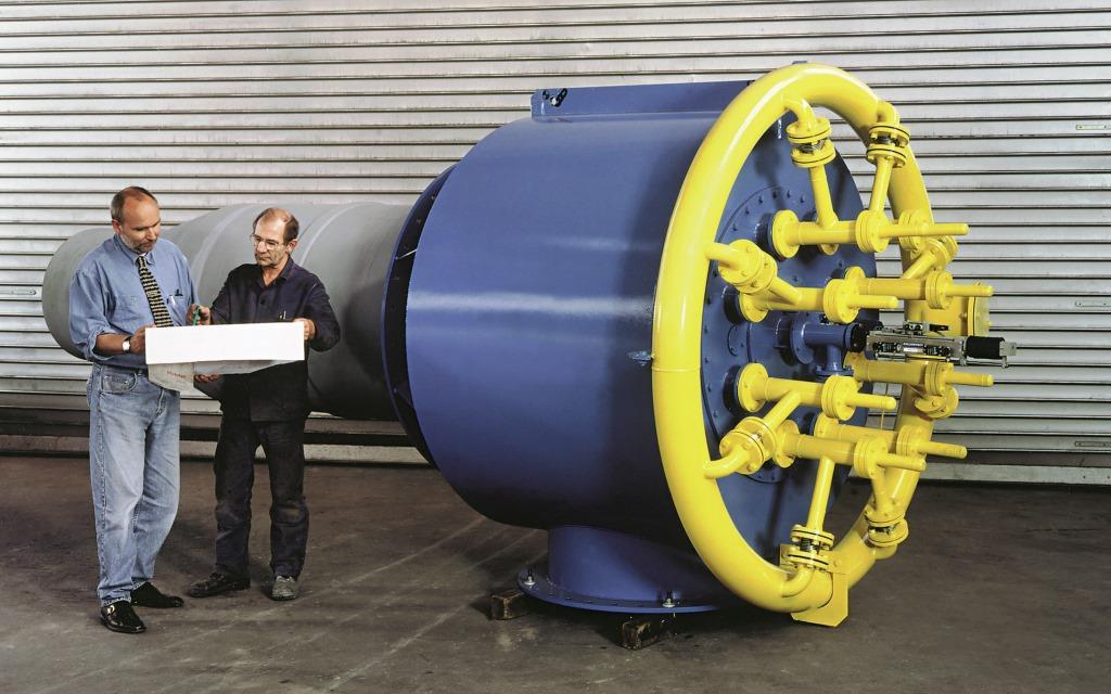 Burner for 1.200 m³/h Natural Gas