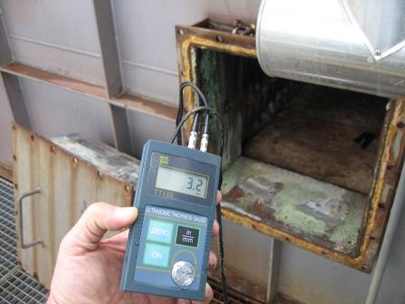 Wall thickness measurements