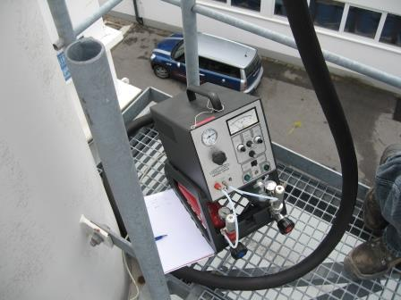 Emission measurements by WTS