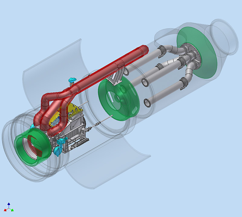 Heat exchangers in aircraft engines