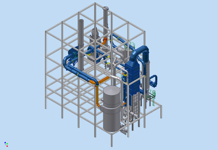 Piping design in Inventor at WTS